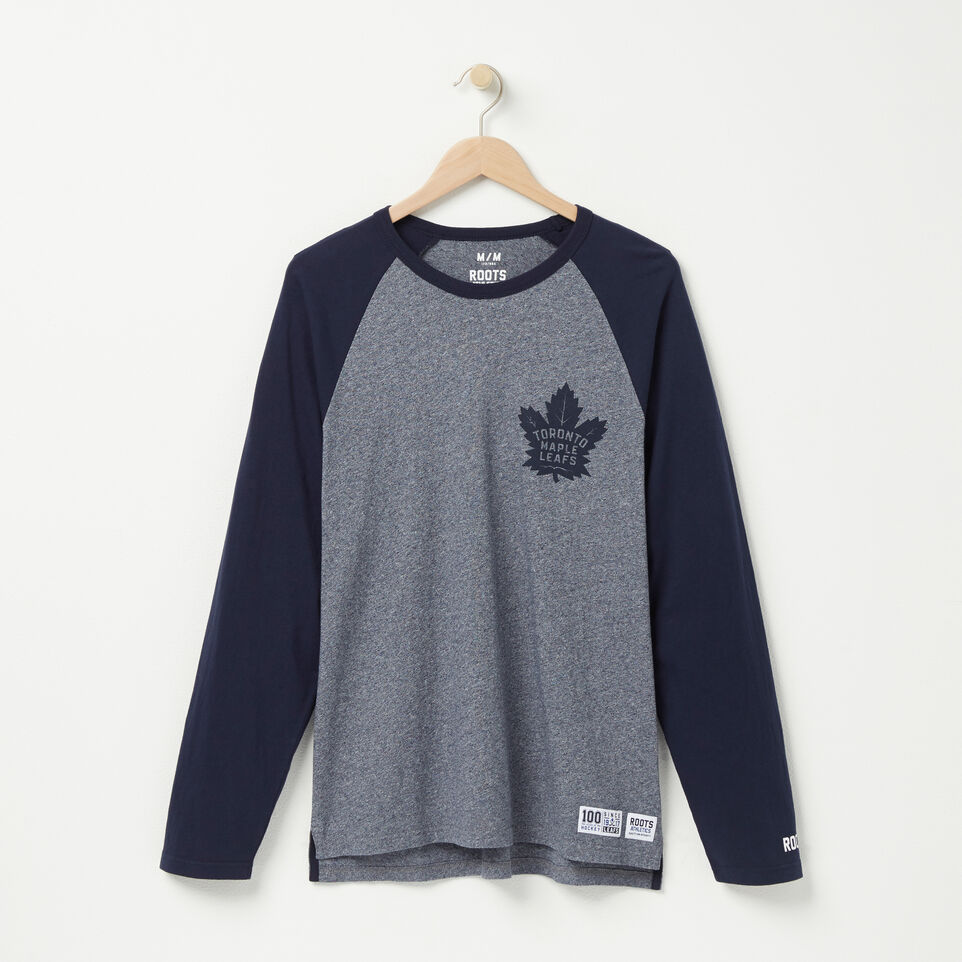 Roots-undefined-T-s Raglan Allier Droit Mlt-undefined-A