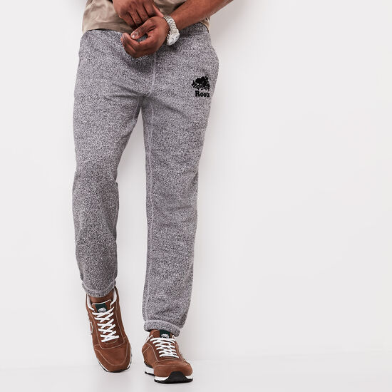 Roots-Men Original Sweatpants-Roots Salt and Pepper Original Sweatpant - Short-Salt & Pepper-A