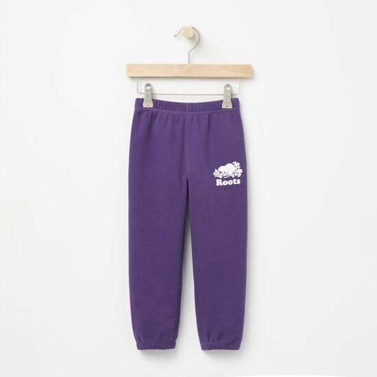 Roots-Kids Bottoms-Toddler Original Slim Sweatpant RTS-Mulberry Purple-A