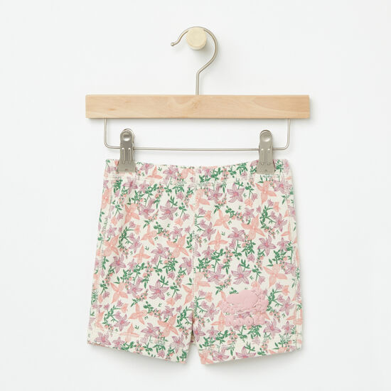Roots-Kids Baby Girl-Baby Valleyfield Shorts-Almond Milk-A