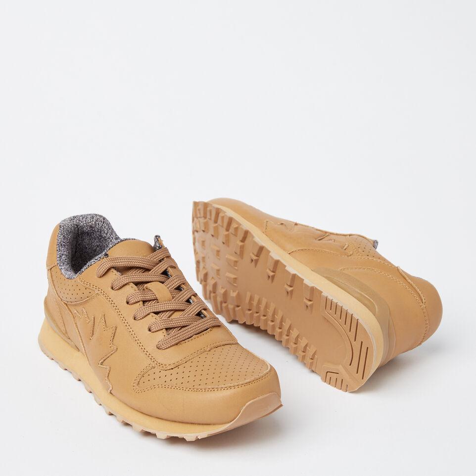 Roots-undefined-Chaussures de course Trans-Canadian en cuir pour femmes-undefined-E
