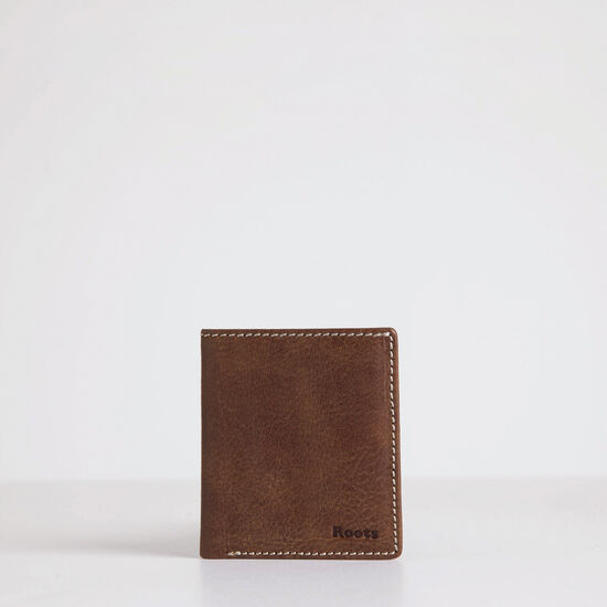Roots-Leather Men's Wallets-Front Pocket Wallet Tribe-Africa-A