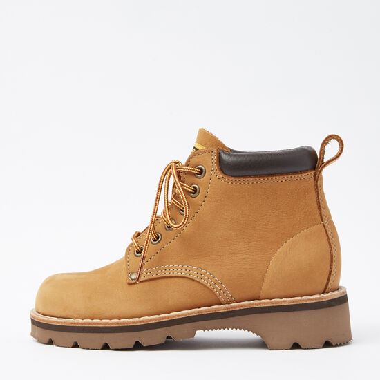 Roots-Shoes Women's Shoes-Womens Tuff Boot Waterbuck-Honey-A