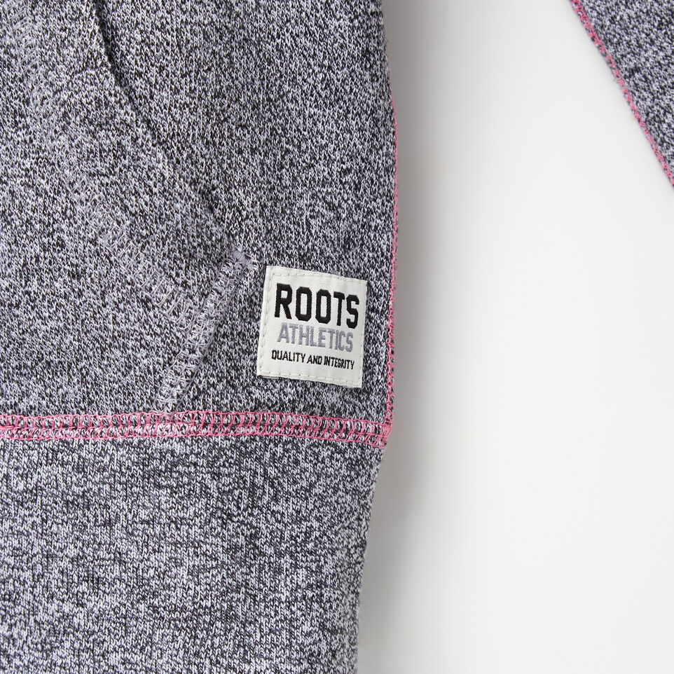 Roots-undefined-Filles Chandail Capuchon À Glissière Poivre Original-undefined-E