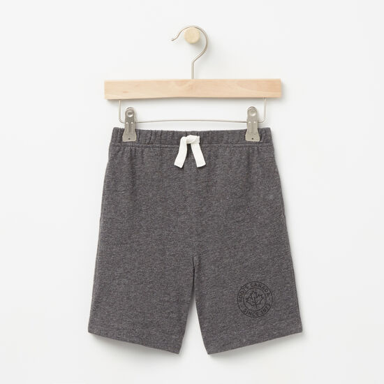 Roots-Kids Bottoms-Toddler Camp Pull On Shorts-Charcoal Mix-A