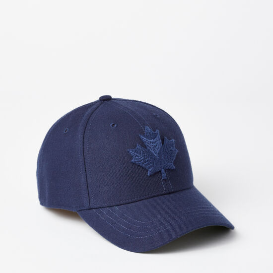 Roots-Men Hats-Modern Leaf Baseball Cap-Cascade Blue-A