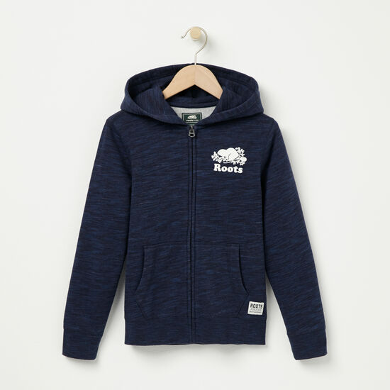 Boys Space Dye Full Zip Hoody