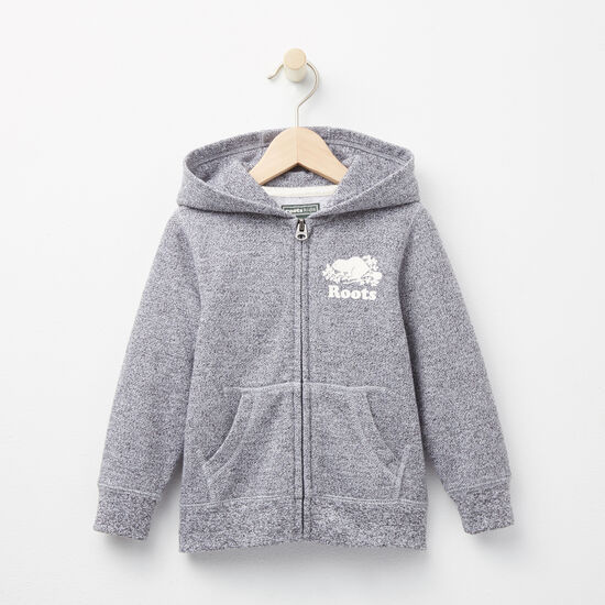 Roots - Toddler Roots Salt & Pepper Original Full Zip Hoody