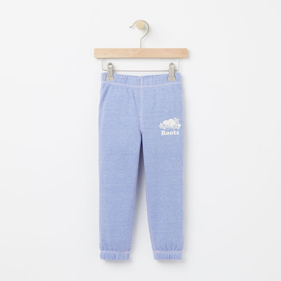 Roots-Kids Toddler Girls-Toddler Colour Pepper Original Slim Sweatpant-Deep Periwinkle Ppr-A