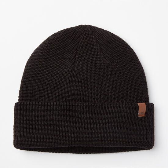 Roots-Men Hats-Hamilton Toque-Black-A