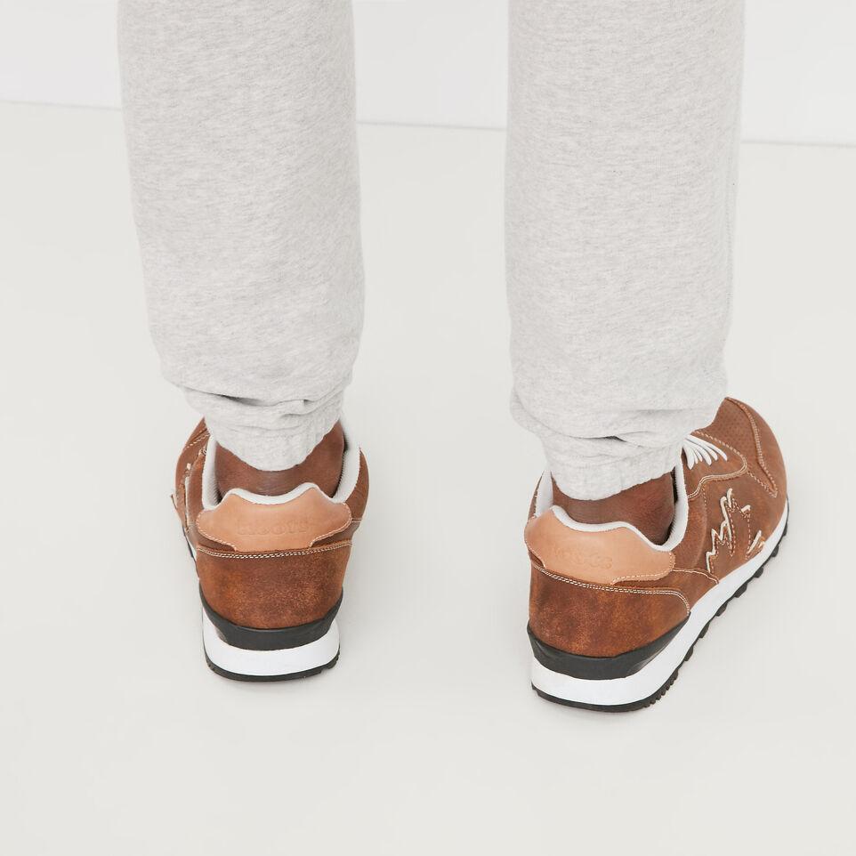 Roots-undefined-Pantalon Ajusté Coton Ouaté-undefined-E