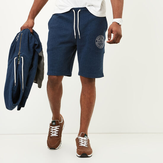 Roots-Men Shorts-True North Shorts-Indigo Mix-A
