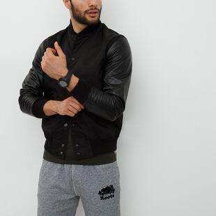 Roots - Varsity Jacket Nylon/leather