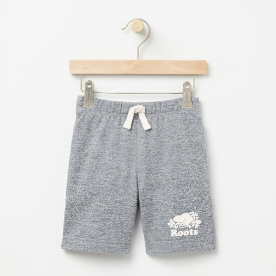 Roots-Kids Toddler Boys-Toddler Original Athletic Shorts-Salt & Pepper-A