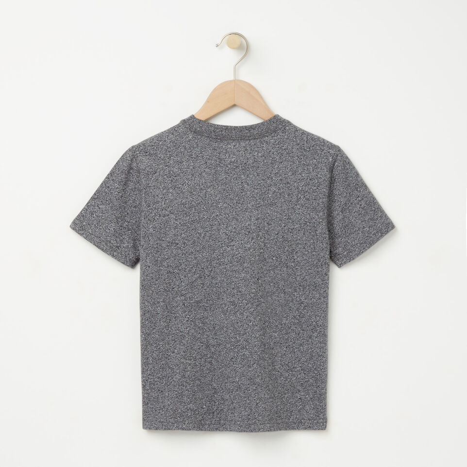 Roots-undefined-Garçons T-shirt Poche Sentier Poivre-undefined-B
