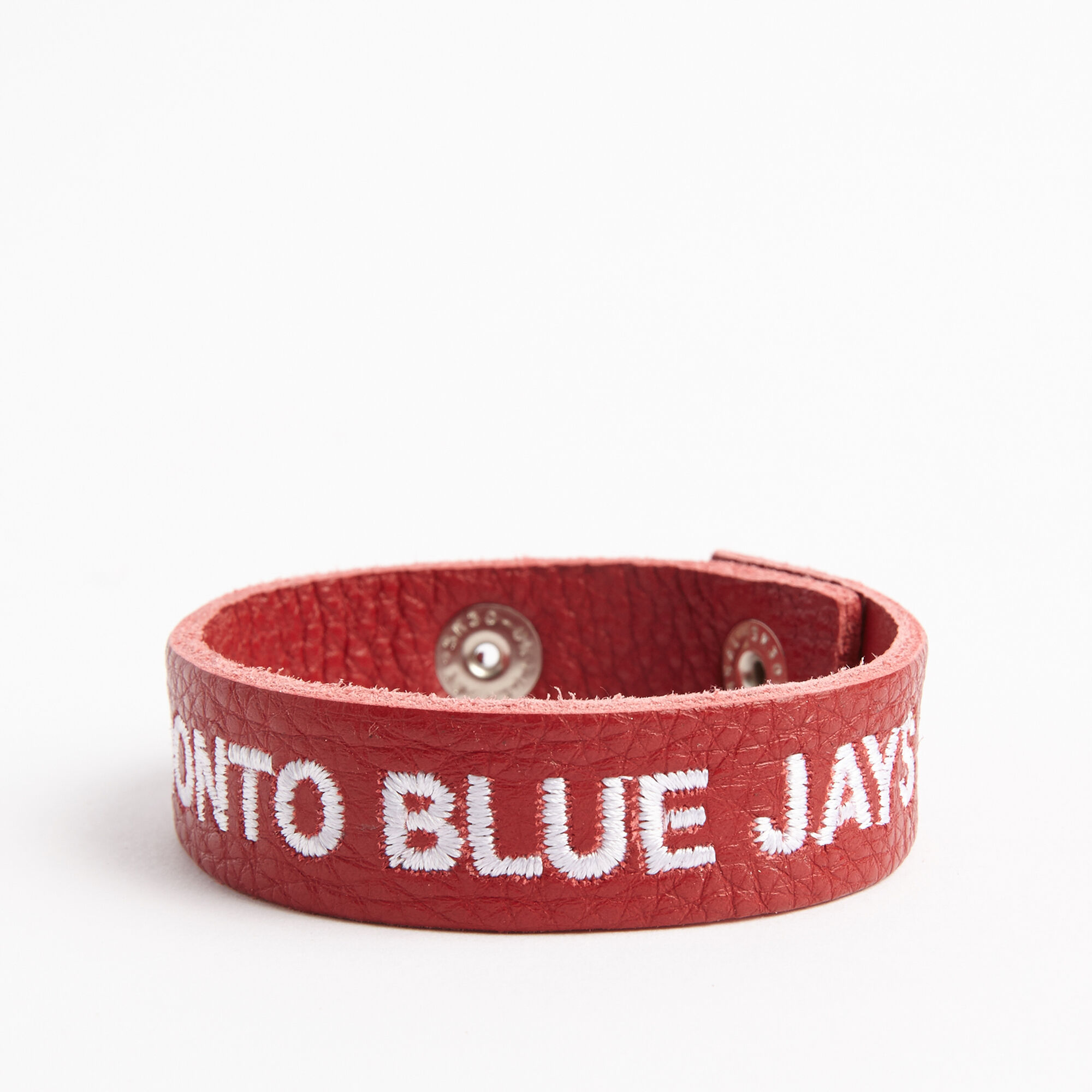 Blue Jays Leather Bracelet