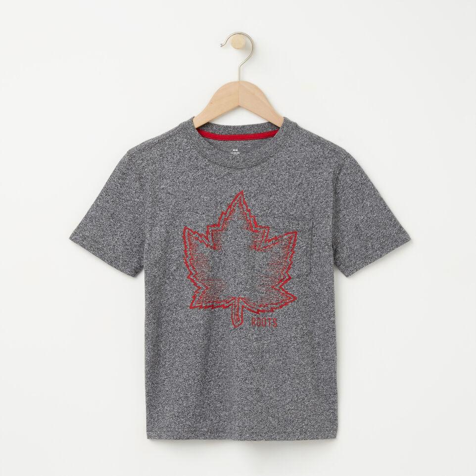 Roots-undefined-Garçons T-shirt Poche Sentier Poivre-undefined-A