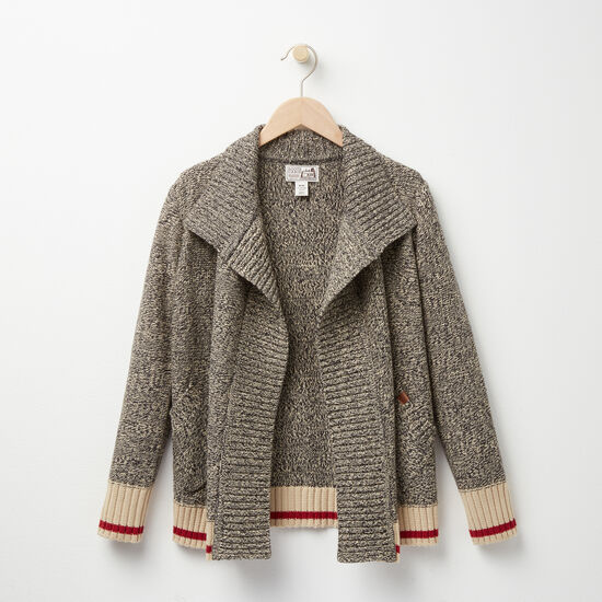 Roots - Girls Roots Cabin Waterfall Cardigan