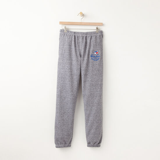 Roots-Women Original Sweatpants-Womens Blue Jays Sweatpant-Salt & Pepper-A