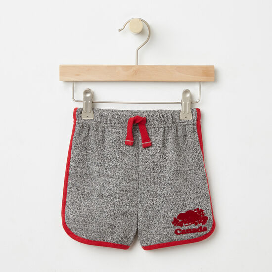 Roots-Kids Toddler Girls-Toddler Cooper Canada Shorts-Salt & Pepper-A
