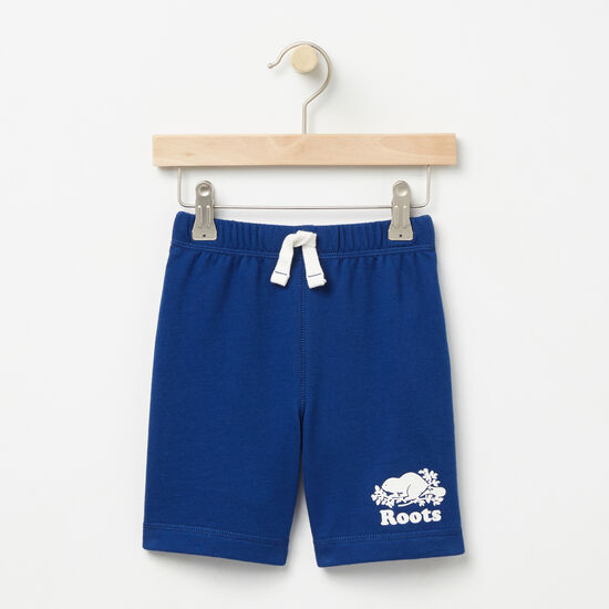 Roots-Kids Toddler Boys-Toddler Original Athletic Shorts-Anchor Lake Blue-A