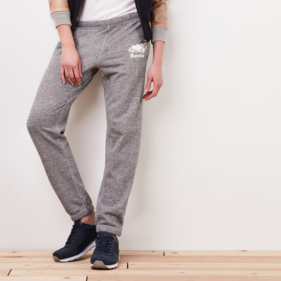Roots-Women Original Sweatpants-Roots Salt and Pepper Original Sweatpant-Salt & Pepper-A