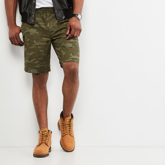 Roots-Men Shorts-Gable Short-Camo Print-A