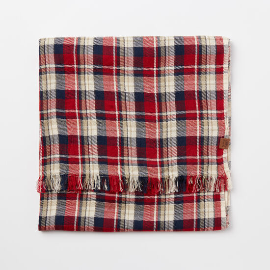 Roots - Cabin Plaid Scarf