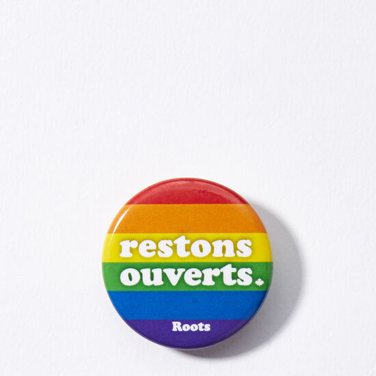Roots-Women Roots Home-Boutons De Restons Ouverts- Pride-Multi-A