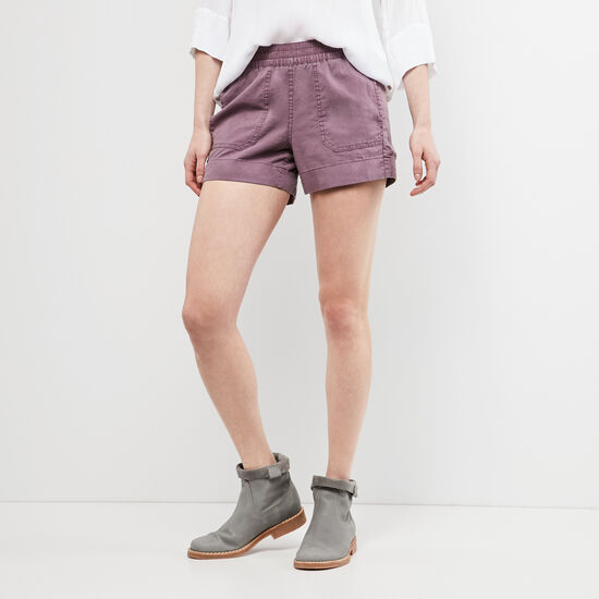 Roots-Women Shorts & Skirts-Day Tripper Shorts-Arctic Dusk-A
