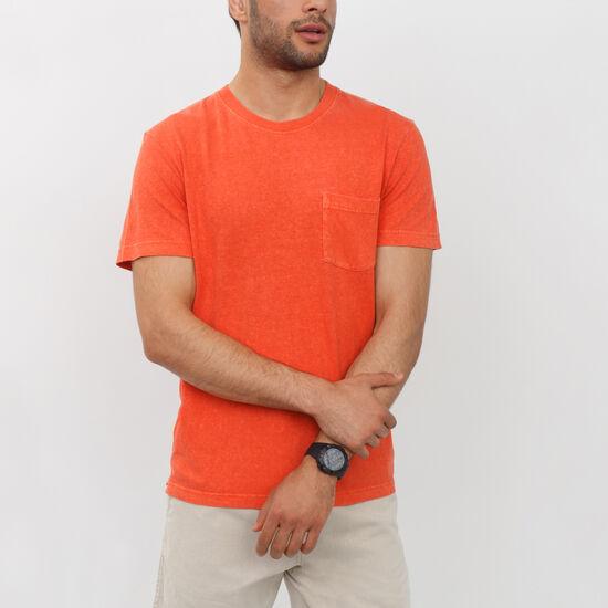 Roots - T-shirt Poche Chanvre Bowman