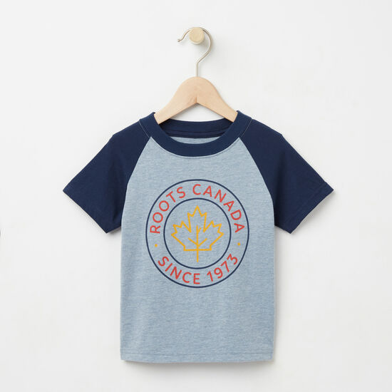 Roots-Kids Toddler Mix & Match 2 For $28-Toddler Hunter Raglan Top-Bluestone-A