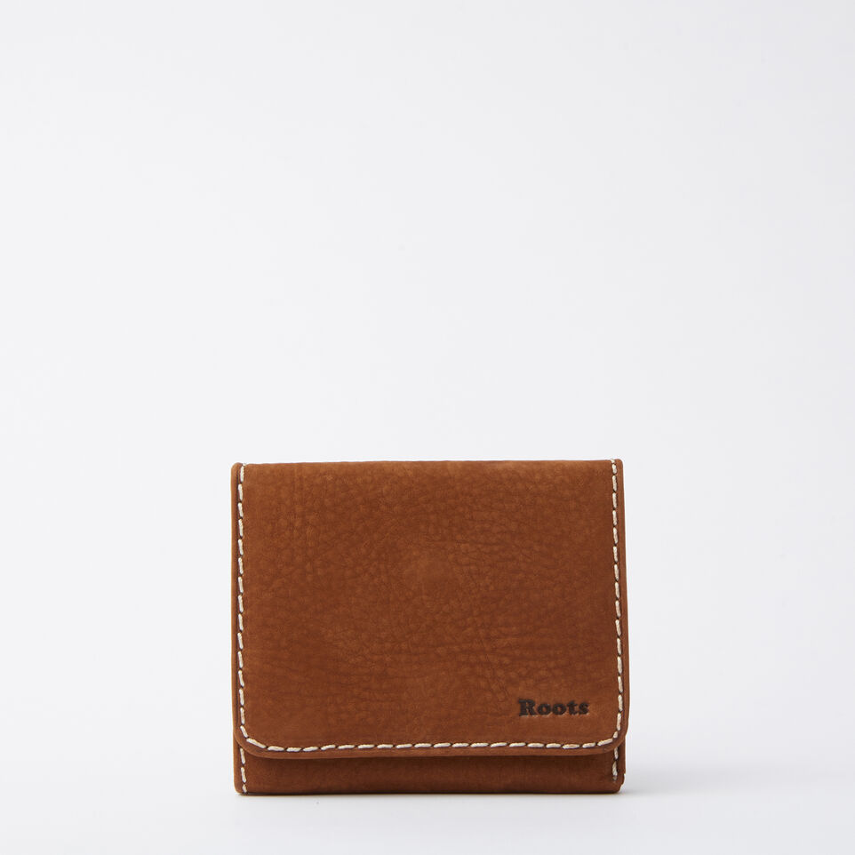 Roots-undefined-Easy Trifold Wallet Waterbuck-undefined-A