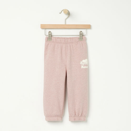 Roots-Kids Bottoms-Baby Original Sweatpant-Woodrose Mix-A
