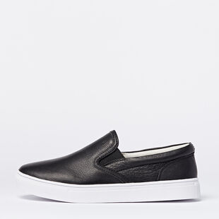 Roots - Mens Slip On Leather Sneaker