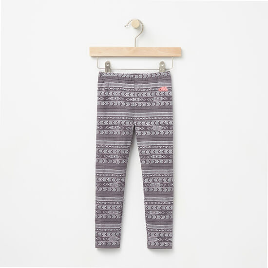 Roots-Kids Bottoms-Toddler Juniper Printed Legging-Blackened Pearl-A