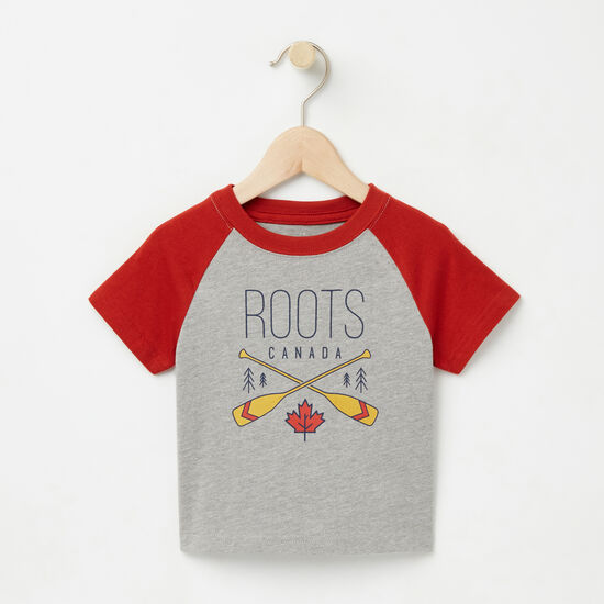 Roots-Kids Baby Mix & Match 2 For $28-Baby Knox Raglan Top-Grey Mix-A