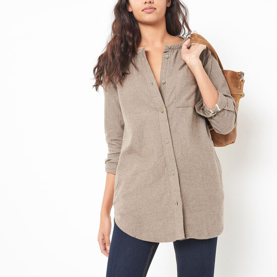 Tisdale Flannel Tunic