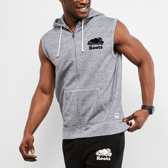 Sleeveless Zip Hoody
