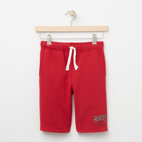 Roots-Sale Kids-Boys Matthew Shorts-Scooter Red-A