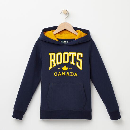 Roots-Sale Kids-Boys Matthew Kanga Hoody-Cascade Blue-A