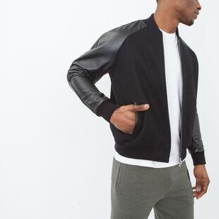 Roots - Bradley Jacket Melton/leather