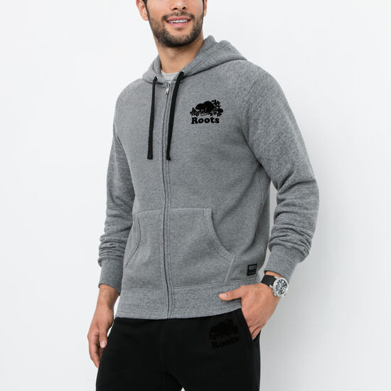 Roots - Contrast Full Zip Hoody