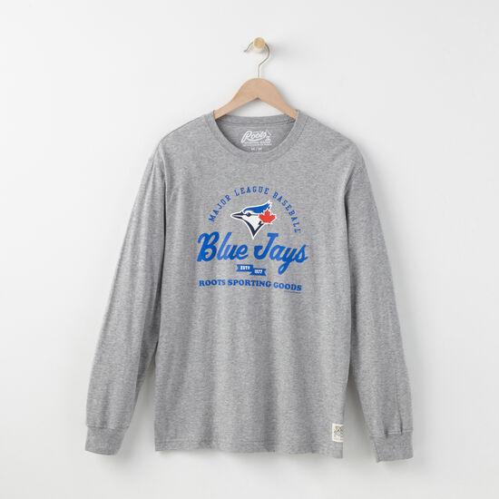 Mens Blue Jays Long Sleeve T-shirt