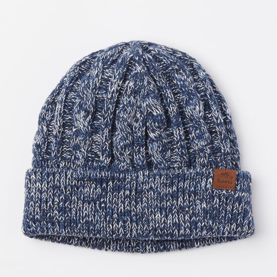 Roots-Men Hats-Fisherman Toque-Cascade Blue-A