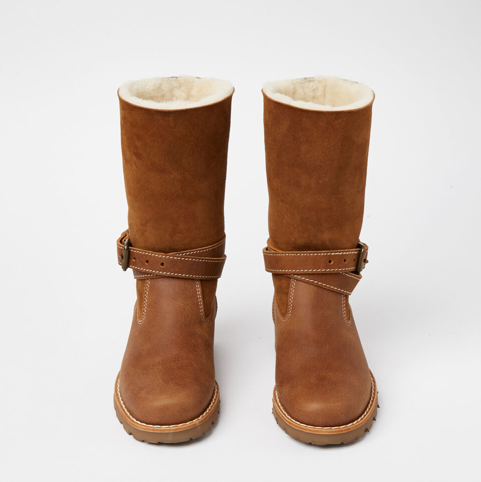 Roots-undefined-Botte Tribe Western Peau De Mo-undefined-D