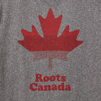 Roots-undefined-T-shirt Feuille Barres Hommes-undefined-C