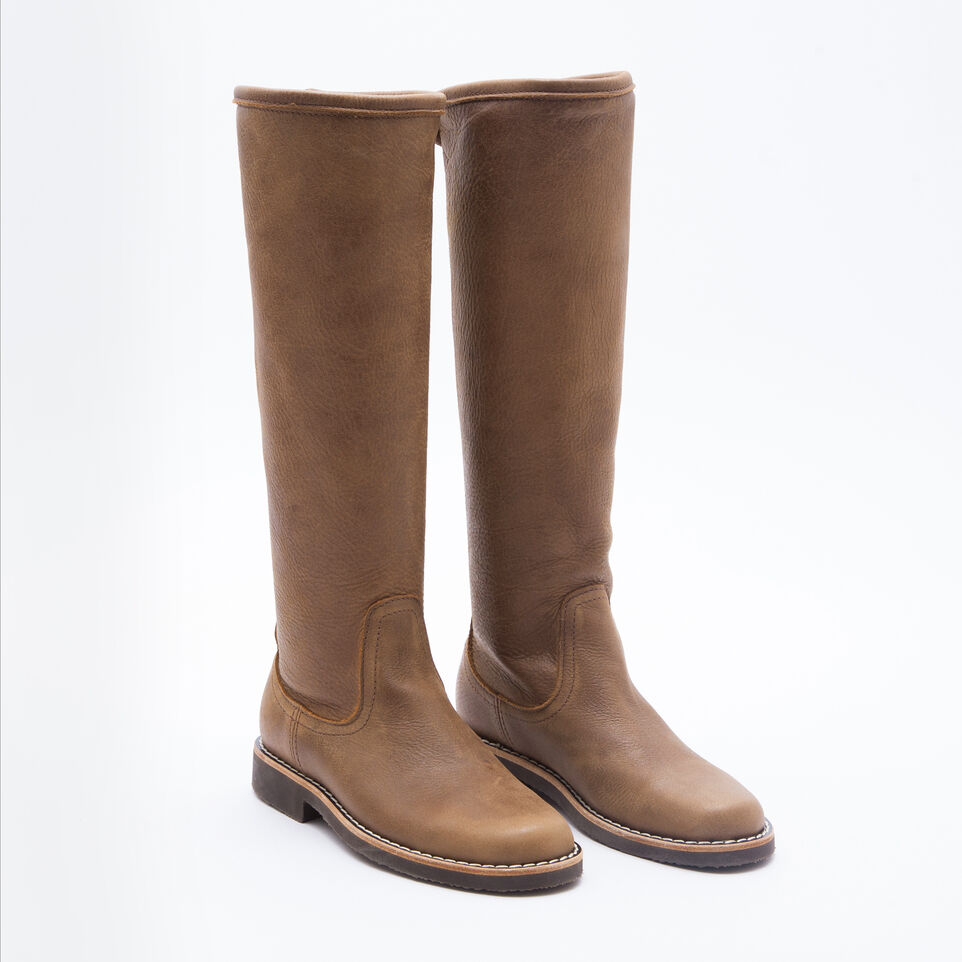 Roots-undefined-Botte Équestre Cuir Tribe-undefined-B