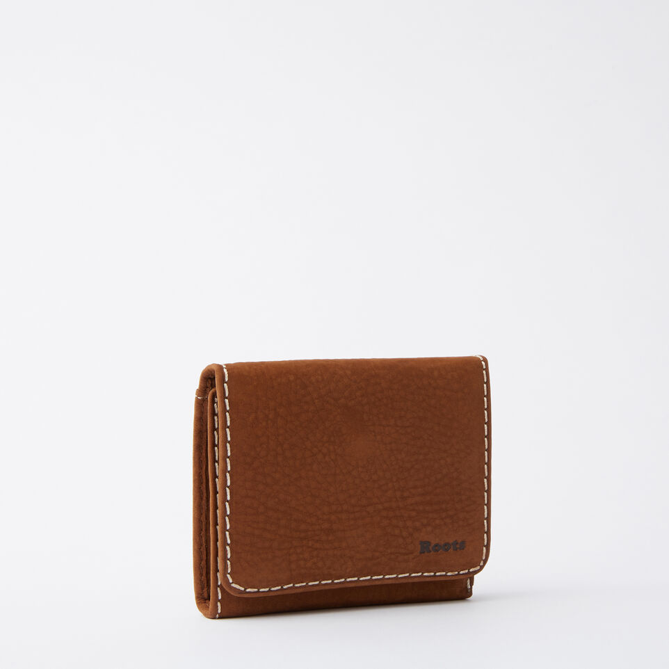 Roots-undefined-Easy Trifold Wallet Waterbuck-undefined-D