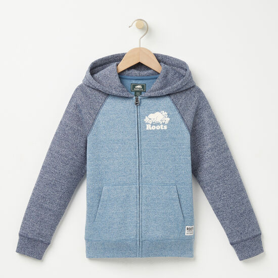 Roots-Kids Boys-Boys Pepper Contrast Full Zip-Copen Blue Pepper-A